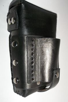 Leather Cigarette Case Black Kings от WolfandHammer на Etsy