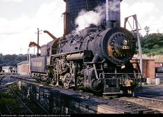 RailPictures.Net Photo: VGN 251 Virginian Railway Steam 0-8-0 at Princeton, West Virginia by Bob Drake [Collection of Tom Sink]