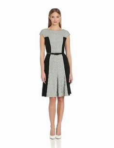 Anne Klein Women's Knit and Jersey Fit and Flare Dress http://www.branddot.com/13/Anne-Klein-Womens-Jersey-Camellia/dp/B00ELQUS88/ref=sr_1_2/181-4331645-9351531?s=apparel