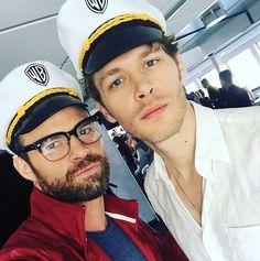 Dan and Joseph at Comic Con 23/7/16