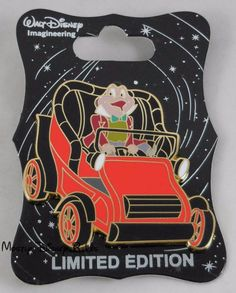 J. Thaddeus Toad, Esq (Mr. Toad). They feature different characters from the Wind in the Willows film on Disneyland's Mr. Toad's Wild Ride. This pin depicts the Angus MacBadger in a yellow car. Disney D23 2015 Expo Mickeys of Glendale. | eBay!