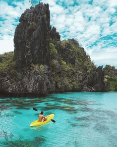 Big Lagoon, El Nido, Palawan 🚣🏻 El Nido Palawan, Nature Photography, Travel Photography, Asia, Philippines, To Go, Wanderlust, Around The Worlds, In This Moment