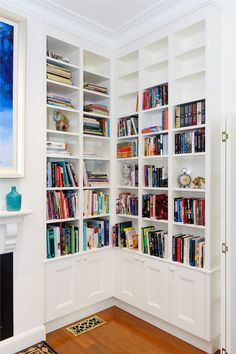 CASE STUDY: GLENBROOK CUSTOM MADE LIBRARY   Clever Closet Company
