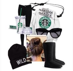 Starbucks outfit!! I.love.this.