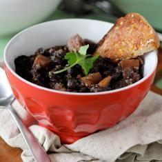 Black Bean, Sweet Potato & Quinoa Chili