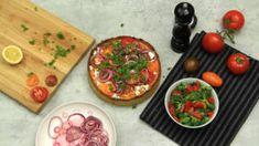 Vårig paj med getost och tomater - Mitt kök