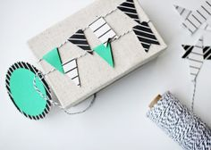 Gift Wrap Ideas by decor8, via Flickr