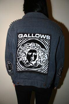 SICK X GALLOWS 'CULT' denim jacket