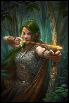 Elven/fantasy art on a 3 dimensional canvas that can be hung directly on your wall or framed. A must for the connoissuer of elven or fantasy art Fantasy Warrior, Elf Warrior, Elves Fantasy, Dark Fantasy, Fantasy World, Dungeons And Dragons, Elfa, Fantasy Artwork, Fantasy Characters