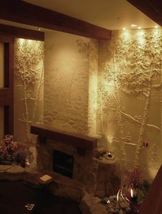 """""""Allow us to Transform your Walls""""! Entryway Lobbies Stairway walls Niches Family rooms Residential Commercial Resort Hotel ..."""