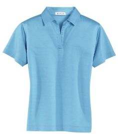 Ladies Double-Mercerized Polo Shirt (up to size 2X) Bigmansland. $54.99