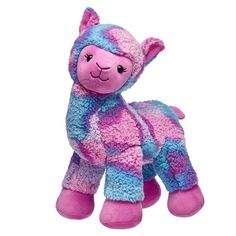 Our specialty may be teddy bears, but we have a huge assortment of plush farm animals and zoo stuffed animals that are ready for snuggles! Shop at Build-A-Bear now. Llama Stuffed Animal, Cute Stuffed Animals, Llama Plush, Custom Teddy Bear, Teddy Bear Pictures, Cute Llama, 16th Birthday Gifts, Build A Bear, Toys For Girls