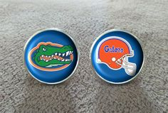 NFL Florida Gators cufflinks by CuffyGalore on Etsy