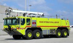 Miami-Dade Fire Rescue<br /> Miami International Airport<br /> Foam-1<br /> 2002 E-One Titan 2000/3000/400/50'<br /> Photo by: Alex M. Poitevien Jr.