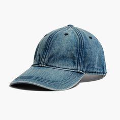 Denim Baseball Cap : AllProducts | Madewell