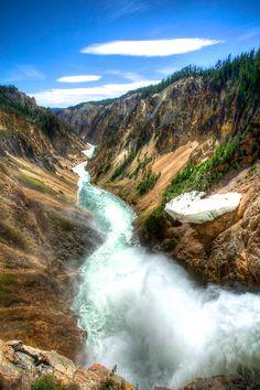 The Grand Canyon of Yellowstone   GI 365