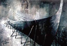 Schilderij van de Finse kunstenaar Samuli Heimonen