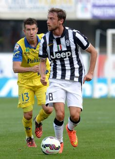 Claudio Marchisio of Juventus in action during the Serie A match...