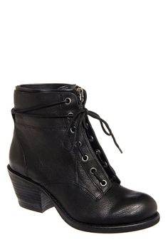 Luxury Rebel - Barret Mid Heel Bootie - Black at DNA Footwear