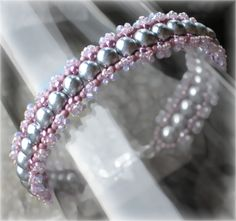 RAW bracelet / Tutorial: Shine by VikisBeadingTutorial