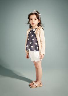 Hucklebones summer 2012 Spotty fashion always looks great on kids :via smudgetikka