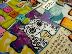 Oops, I Craft My Pants: 1st Altered Puzzle - puzzle program (use a puzzle with larger pieces)