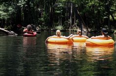 There's Nothing Better Than Florida's Natural Lazy River On A Summer's Day