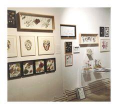 Exhibit Judith de Vries at Hutspot van Woustraat.