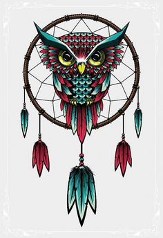 Beautiful Owl Artworks