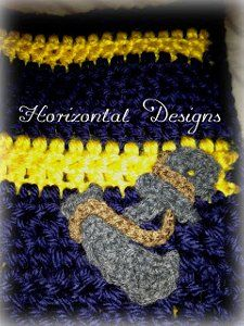 Anchor Crochet Applique ~ free pattern