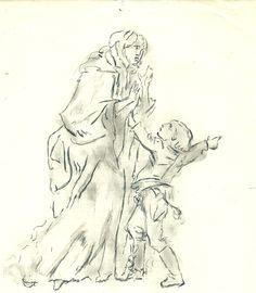 """""""Nan ! J'veux pas aller aux waters ! Y puent la mort !"""" s'époumonait en vain le jeune Watteau par un chaud dimanche d'été."""