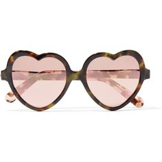 2fc074ff635 Cutler and Gross Love Bite acetate mirrored sunglasses (£255) ❤ liked on  Polyvore