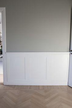 012 Beautiful Interior Design, Home Interior Design, Flur Design, Ikea, Hallway Designs, Compact Living, White Paneling, Panelling, Living Room Remodel