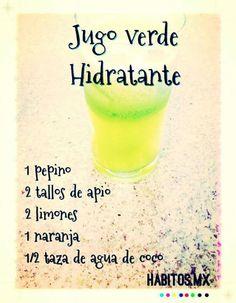 Jugo hidratante