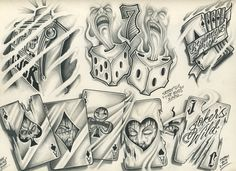 Tattoo Flash by TattooMan21.deviantart.com on @deviantART