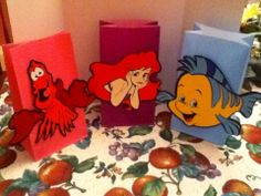 Cute Disney Little Mermaid Party Goody Bags by Onecraftyhippo, $2.00