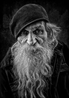 Amazing black and white portrait photography faces People Photography, Vintage Photography, Portrait Photography, Black And White Portraits, Black And White Photography, Old Man Portrait, Old Man Face, Old Faces, Long Beards