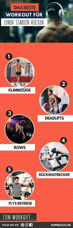 Das beste Workout für einen starken Rücken