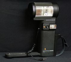 Agfatronic 643 CS AGFA Gevaert Camera Flash & Bracket Holder - CANON NIKON SONY #AGFAGevaert