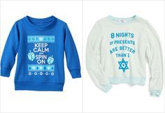 Pin for Later: 14 New Hanukkah Traditions For Kids Inspired by Christmas Wearing Ugly Hanukkah Sweaters Ugly Hanukkah Sweater, Ugly Holiday Sweater, Ugly Sweater Party, Christmas Sweaters, Hanukkah Traditions, Kids Inspire, Holiday Wishes, Being Ugly, What To Wear