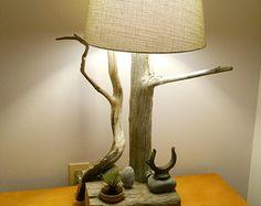 Handmade Driftwood Lamp
