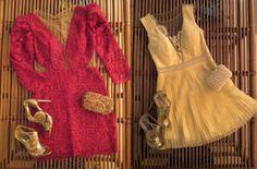 Madrinhas de casamento: Vestidos curtinhos pra arrasar nas festas!