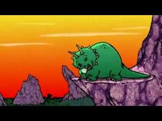 """▶from The Big Green Rabbit """"The Dinosaurs Song"""" - Lyrics - YouTube"""