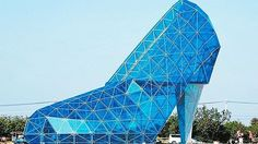 Bless my sole! Chinese church looks just like a high-heeled shoe - BT