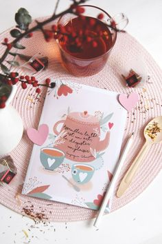Muffin et Thé | Kriboute Petit Cake, Winter Drinks, Tea Time, Instagram, Post Card, Pink, Cards, Gifts, Marie Claire
