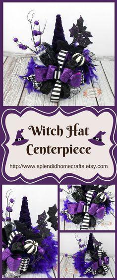 Purple Halloween Speak Witch Hat Voice Wizard/'s Cap Decor Props For Adults Kids