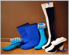 Costuming: Boot Cover Tutorial