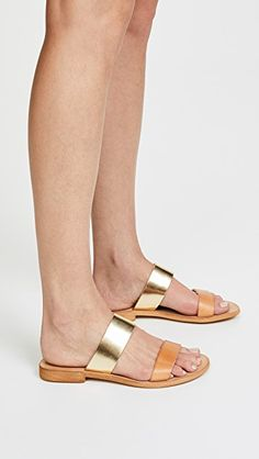 2110a873e Cocobelle Leather Slide Sandals Slide Sandals