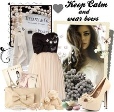 """""""Bows"""" by scorpioncina86 on Polyvore"""