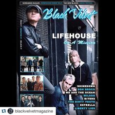 Check it out online! An interview with @zmyersofficial and album review. Repost @blackvelvetmagazine: The new issue of #BlackVelvet is online now. Go read it over at http://ift.tt/1ANpiV7 Issue 86 includes an interview with #Shinedown and more!